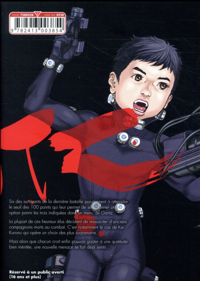 Dos Gantz perfect tome 10