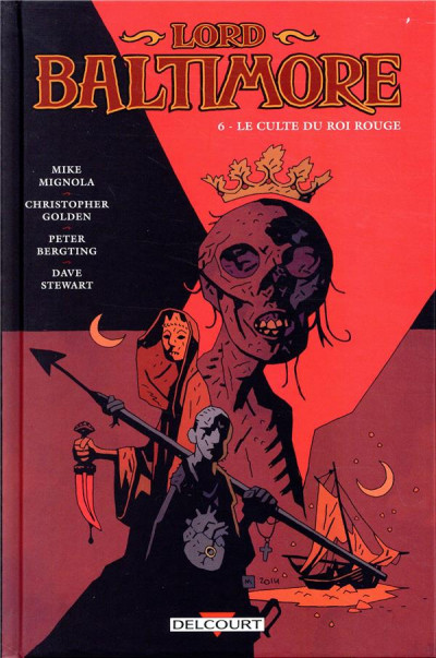 Couverture Lord Baltimore tome 6