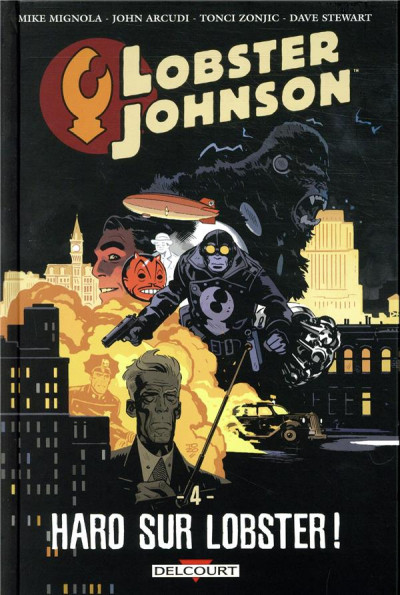 Couverture Lobster Johnson tome 4