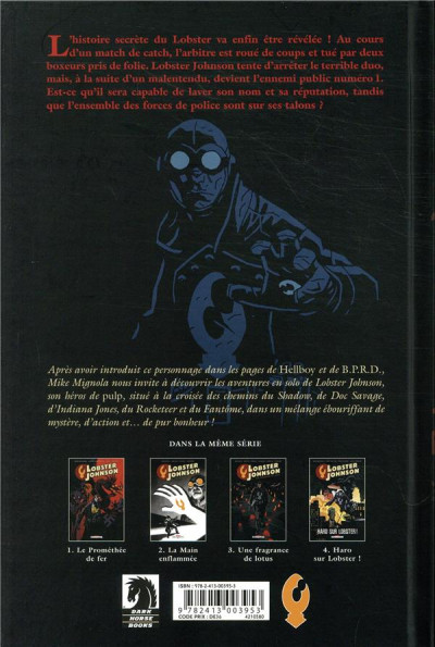 Dos Lobster Johnson tome 4