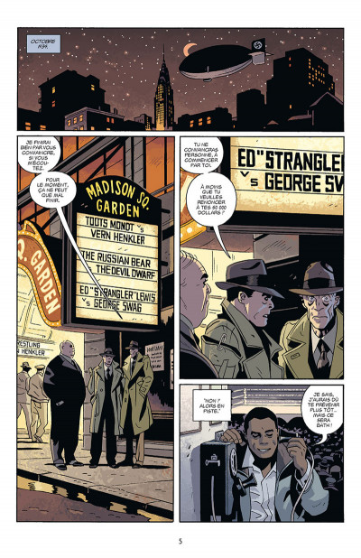 Page 1 Lobster Johnson tome 4