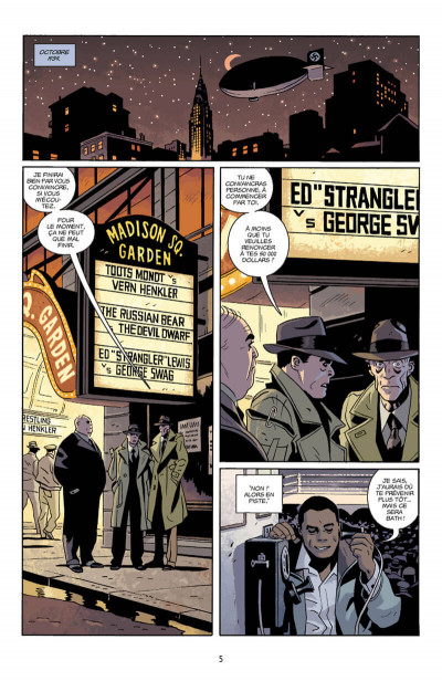 Page 5 Lobster Johnson tome 4