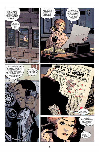 Page 6 Lobster Johnson tome 4