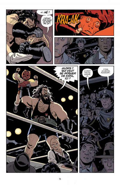 Page 9 Lobster Johnson tome 4
