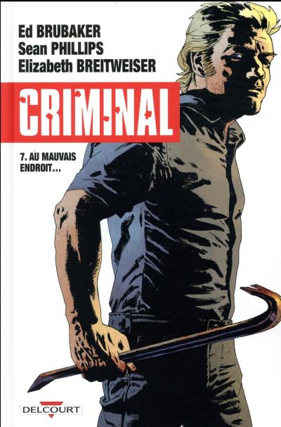 Couverture Criminal tome 7