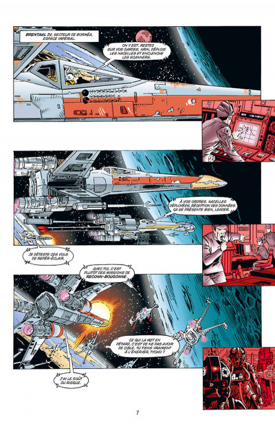 Page 7 Star wars - X-wing rogue squadron - intégrale tome 3