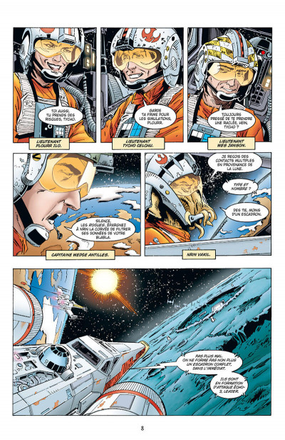 Page 8 Star wars - X-wing rogue squadron - intégrale tome 3