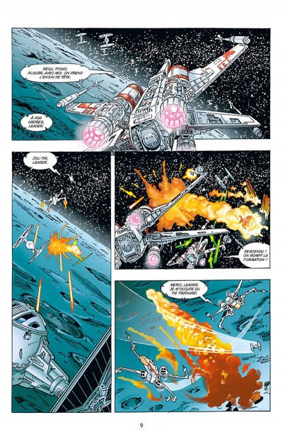 Page 9 Star wars - X-wing rogue squadron - intégrale tome 3