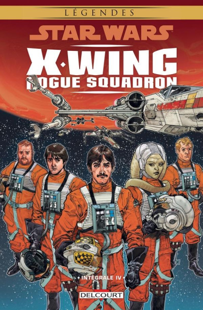 Couverture Star wars - X-wing Rogue Squadron - intégrale tome 4
