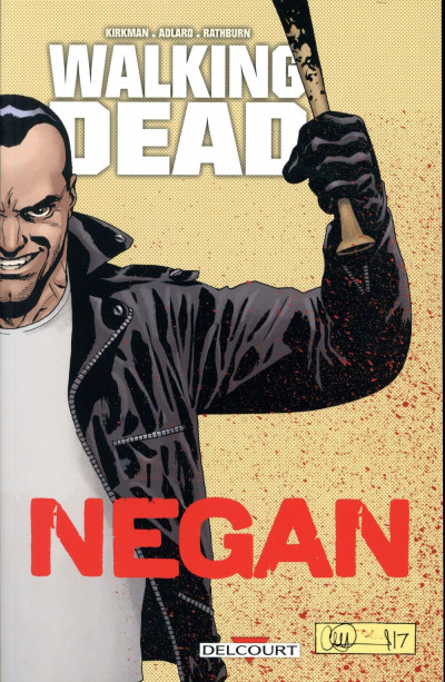 Couverture Walking dead - Negan