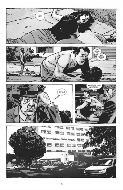 Page 9 Walking dead - Negan