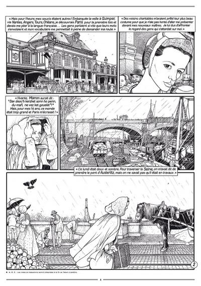 Page 2 Les passagers du vent - journal tome 8 - Le sang des cerises 1/4