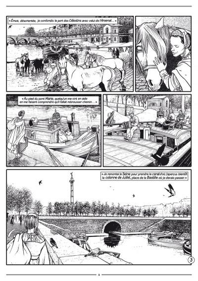 Page 3 Les passagers du vent - journal tome 8 - Le sang des cerises 1/4
