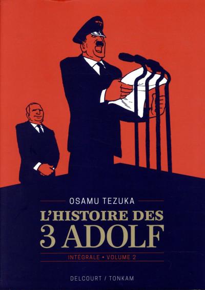 Couverture L'histoire des 3 Adolf - édition 90 ans tome 2