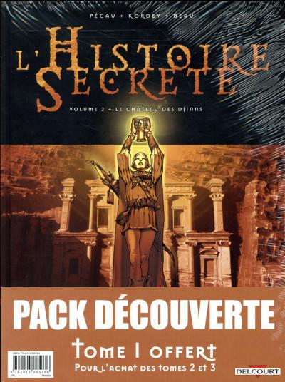 Dos L'histoire secrète - pack tomes 1 à 3