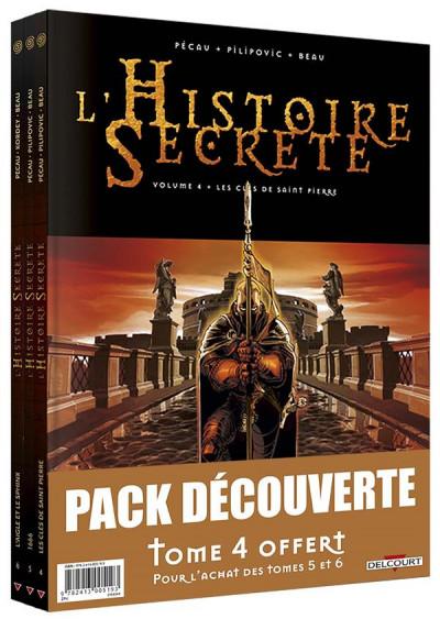 Couverture L'histoire secrète - pack tomes 4 à 6