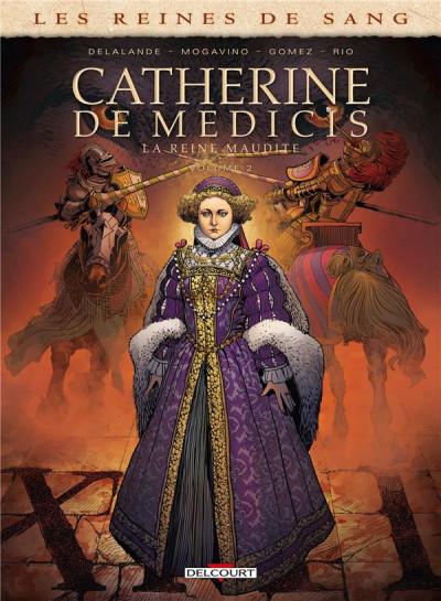 Couverture Les reines de sang - Catherine de Médicis tome 2 + ex-libris offert