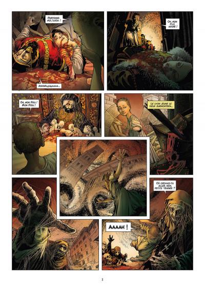 Page 3 Les reines de sang - Catherine de Médicis tome 2 + ex-libris offert