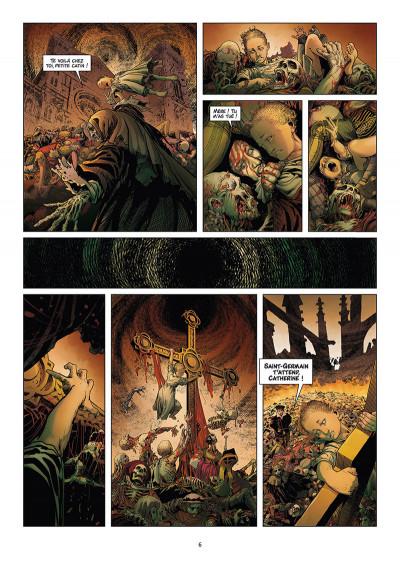 Page 4 Les reines de sang - Catherine de Médicis tome 2 + ex-libris offert