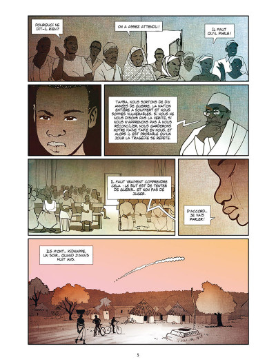 Page 3 Tamba, l'enfant soldat