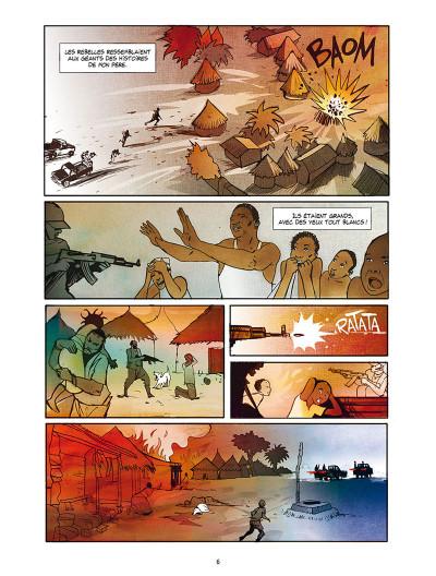 Page 4 Tamba, l'enfant soldat