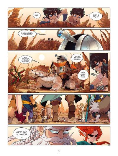 Page 1 Les légendaires - Les chroniques de Darkhell tome 1