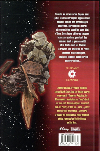 Dos Star wars - icones tome 6 - Stormtroopers