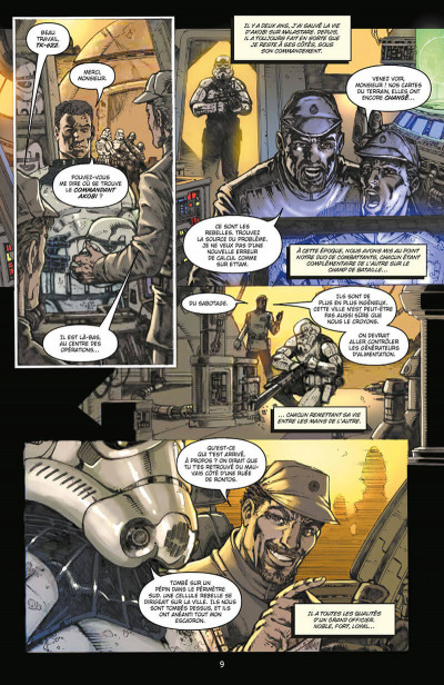 Page 9 Star wars - icones tome 6 - Stormtroopers