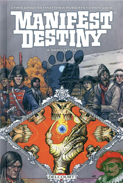 Couverture Manifest destiny tome 4