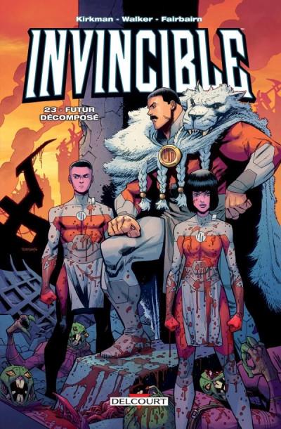 Couverture Invincible tome 23