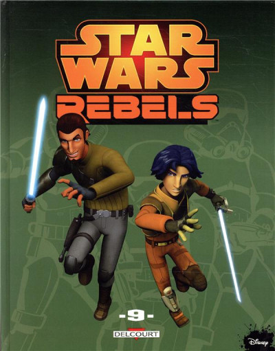 Couverture Star wars - rebels tome 9