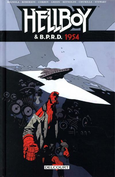 Couverture Hellboy & B.P.R.D. tome 3