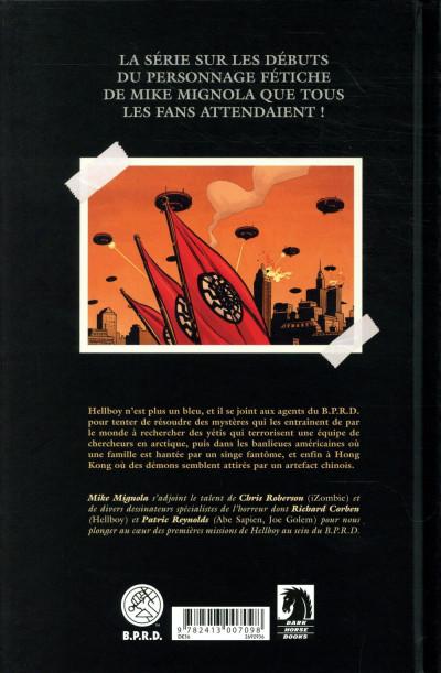 Dos Hellboy & B.P.R.D. tome 3