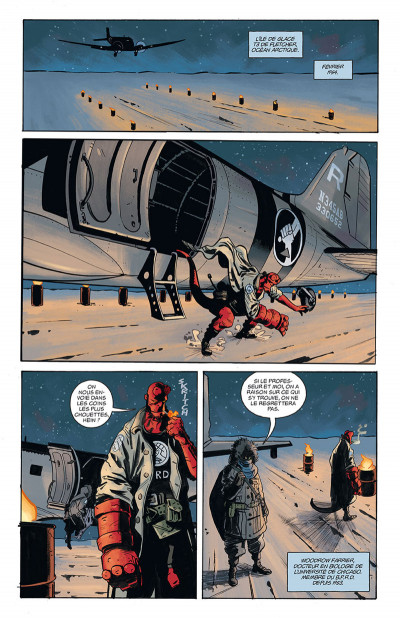 Page 1 Hellboy & B.P.R.D. tome 3