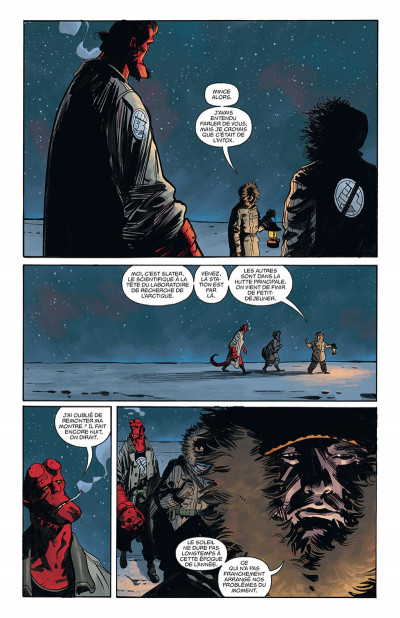 Page 2 Hellboy & B.P.R.D. tome 3
