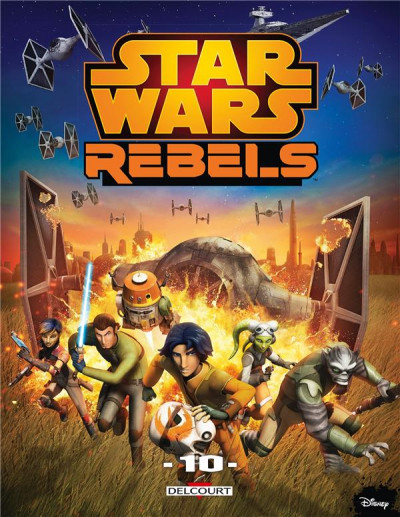 Couverture Star wars - rebels tome 10