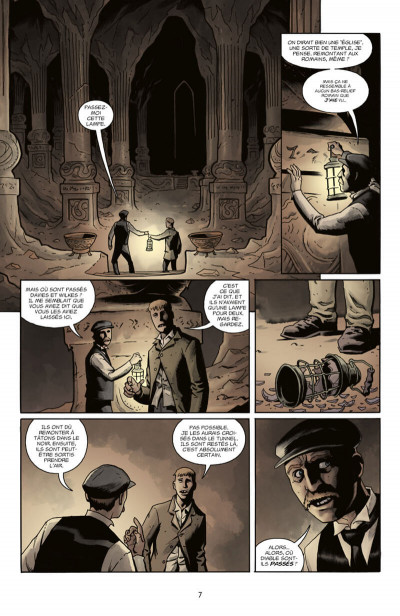 Page 7 Witchfinder tome 4