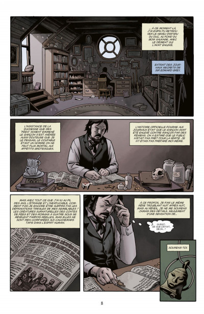 Page 8 Witchfinder tome 4