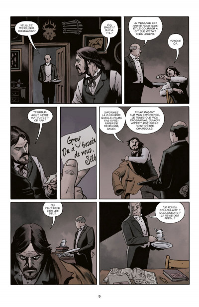 Page 9 Witchfinder tome 4