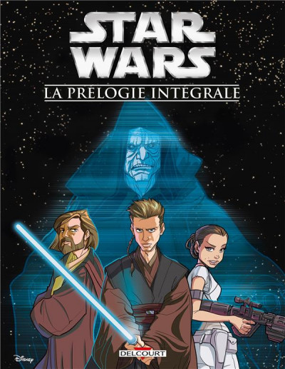 Couverture Star Wars - La prélogie intégrale