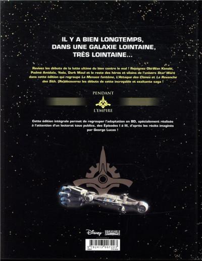 Dos Star Wars - La prélogie intégrale