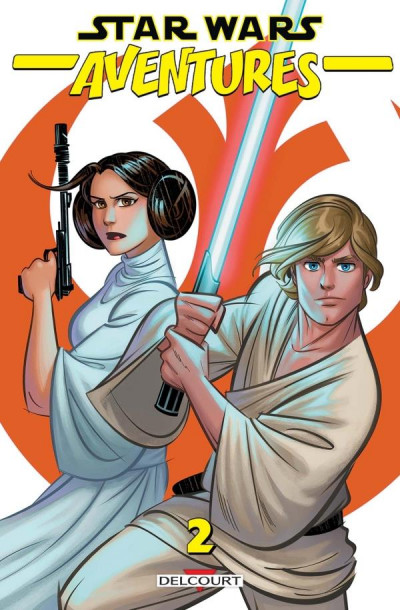 Couverture Star wars - aventures tome 2