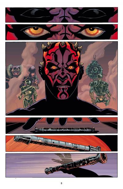 Page 8 Star Wars - intégrale - Dark Maul
