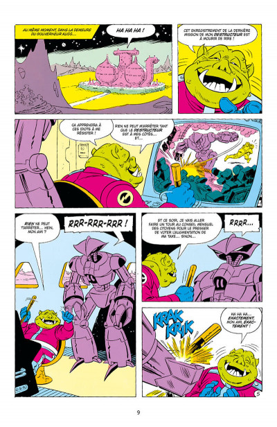 Page 9 Star wars droïdes - intégrale