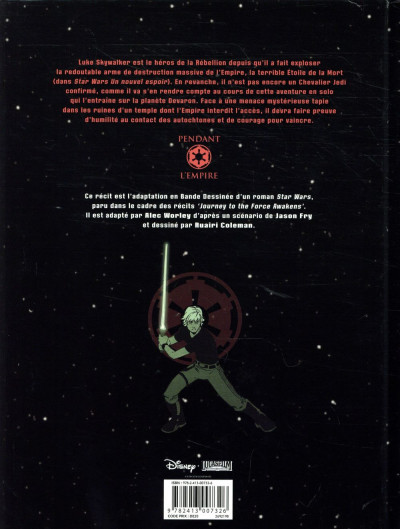 Dos Star wars - L'arme du jedi
