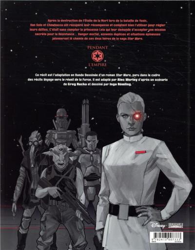 Dos Star Wars - La cavale du contrebandier