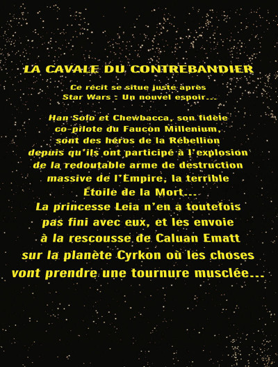Page 2 Star Wars - La cavale du contrebandier