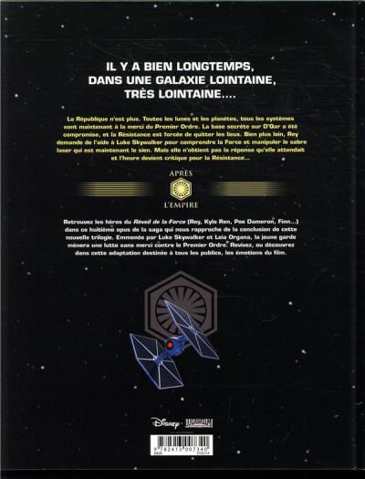 Dos Star Wars - Les derniers jedi