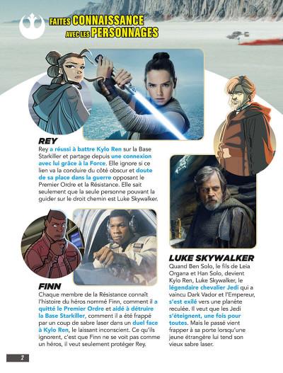 Page 2 Star Wars - Les derniers jedi