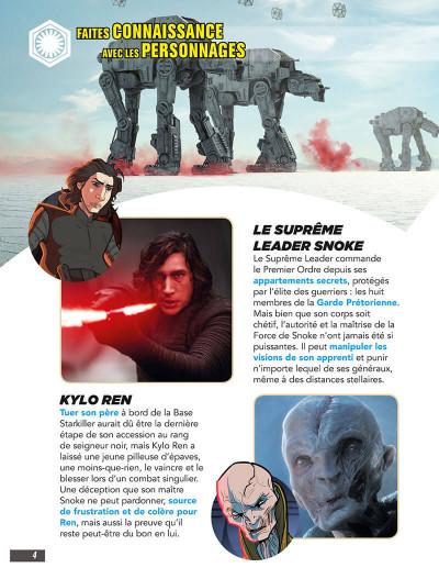 Page 4 Star Wars - Les derniers jedi